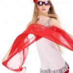 Girl in red — Stock Photo #5839158