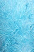 Blue fur — Stock Photo