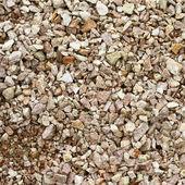 The sandy gravel — Stock Photo