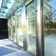 Transparent door and sunlight — Stock Photo #5797815