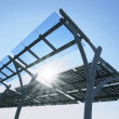 Foto Stock: Solar power panel
