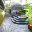Beautiful courtyard — Foto de Stock