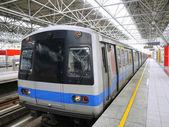 Train staton — Stock Photo