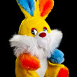 "Stock Photo: Soft toy ""Hare"""