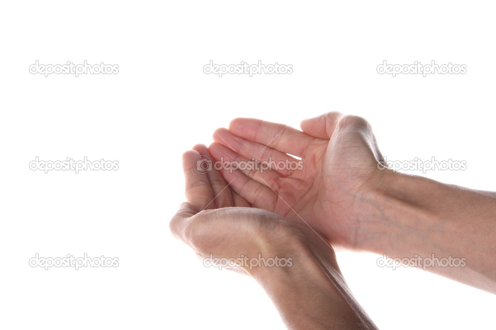 Accepting hands — Stock Photo #6612603