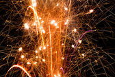 Sparkles, pops, and fireworks — Stockfoto