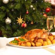 Christmas Dinner - Foto Stock