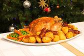 クリスマス ディナー — ストック写真