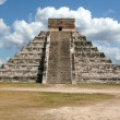 Kukulkan Straight On — Stock Photo