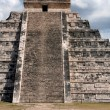 Kukulkan Temple Straight On — Stock Photo