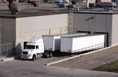 Truck Loading Dock — Stock Photo