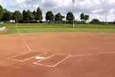 Softball-diamant — Stockfoto