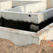 Townhouse Foundation — Stock Photo