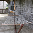 Stock Photo: Beach House Hammock