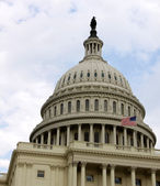 Top of the Capitol Building — Stock Photo