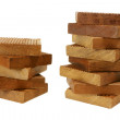 pieces of wood — Stock Photo