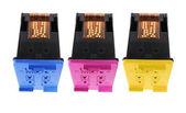 Colour Ink Cartridges — Stock Photo