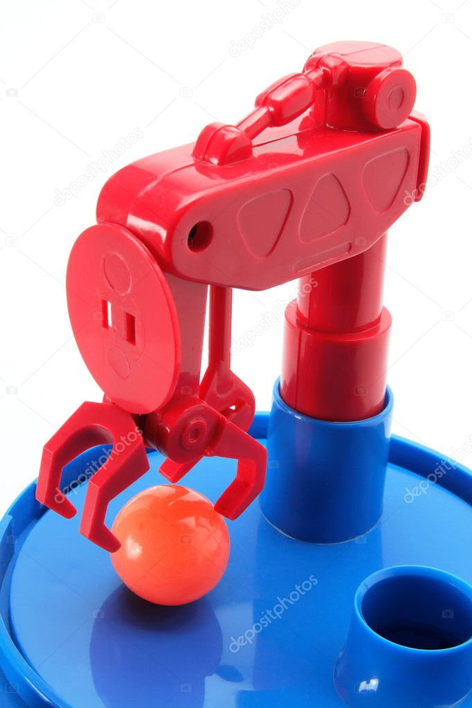 Skill Tester Toy on White Background — Stock Photo #5668593