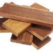 Stack of Wooden Planks — Stock Photo