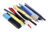 Samling av pennor — Stockfoto
