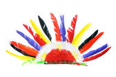 Red Indian Party Headgear — Stock Photo