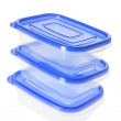 Stack of Plastic Containers — Stock Photo #5723231