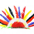Red IndiParty Headgear — Stok Fotoğraf #5743078