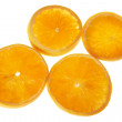 Stock Photo: Slices of Orange