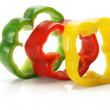 Slices of Capsicum — Stock Photo