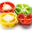 Stock Photo: Slices of Capsicum