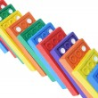 Close Up of Dominoes — Stockfoto