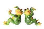 Frog Figurines — Stock Photo