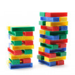Stacks of Building Blocks — Stock Photo