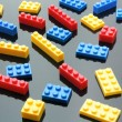 Plastic Building Blocks — Stock Photo #5870438