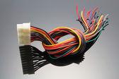 Vnitřní napájecí kabel — Stock fotografie