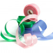 Rolls of Gift Ribbons — Stock Photo