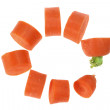 Stock Photo: Slices of Carrot