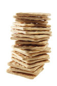 Stack of Cracker — Stock Photo