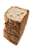 Stack of Raisin Bread — Stock Photo