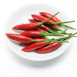 Stock Photo: Red Chillies