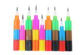 Crayons en plastique — Photo