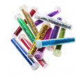 Tubes of Glitters — Stock Photo
