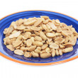 Plate of Peanuts — Stock Photo