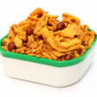 Chanachur or bombay mix — Stock Photo
