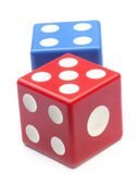 Two dices — Stock Photo