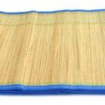 天然秸秆作地板垫 — 图库照片