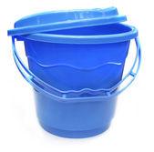 Plastic water bucket — Stock Photo