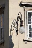 Straat lamp in triëst — Stockfoto