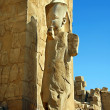 Statue in Karnak Temple - Stock Photo