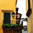 Verona architecture details — Stock Photo